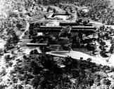 Aerial Photo of CCC camp, Company 895 in Osage Hills State Park