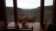 View of the Petit Jean Valley from the restaurant.
